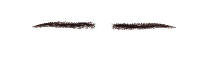 つけ眉毛眉エクステンション医療用自然立体感人毛100%付け眉毛眉毛眉アイブロウrm-1011