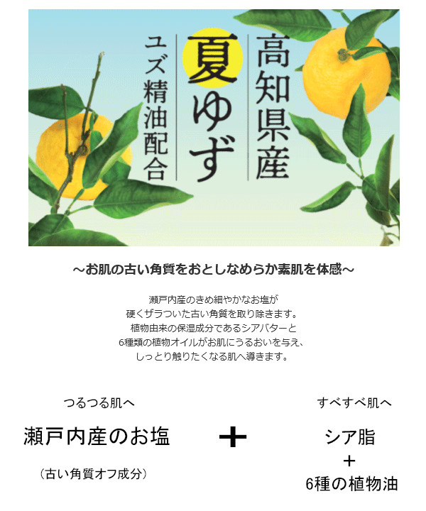 高知県産夏ゆず