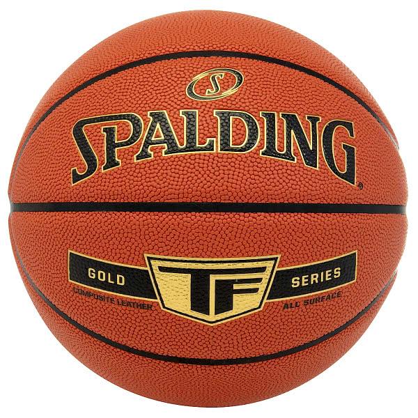 スポルディング バスケットボール 5号 ゴールド TF ブラウン
