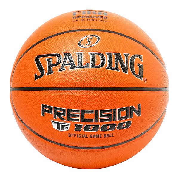 スポルディング バスケットボール 7号 プレシジョン TF-1000 ブラウン