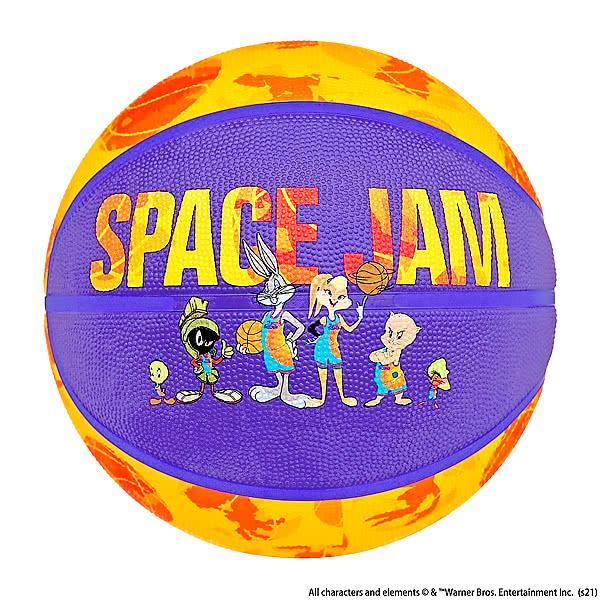 スポルディング バスケットボール 7号 スペースジャム テューン スクワッド イエロー
