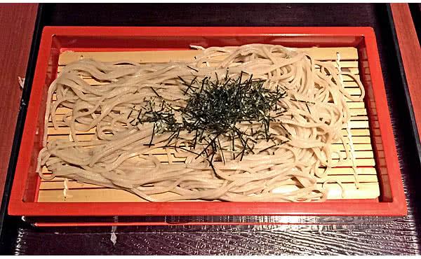 松葉のり ざる蕎麦