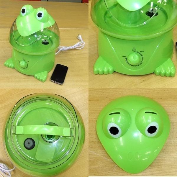 カエル加湿器の詳細画像
