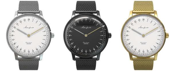 オーカーフォーク腕時計の種類