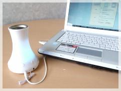 USBアロマの使用イメージ画像