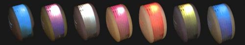 アロマブリーズ ルミ レインボーの点灯イメージ