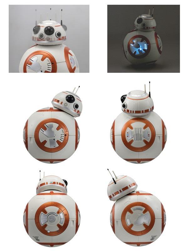 スターウォーズ BB-8アクションクロック 目覚まし時計