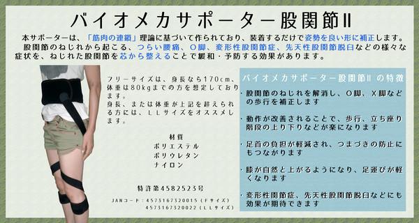 バイオメカサポーター股関節2