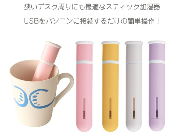 USBをパソコンに接続するだけの簡単操作