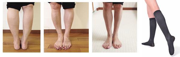 脚のライン細い