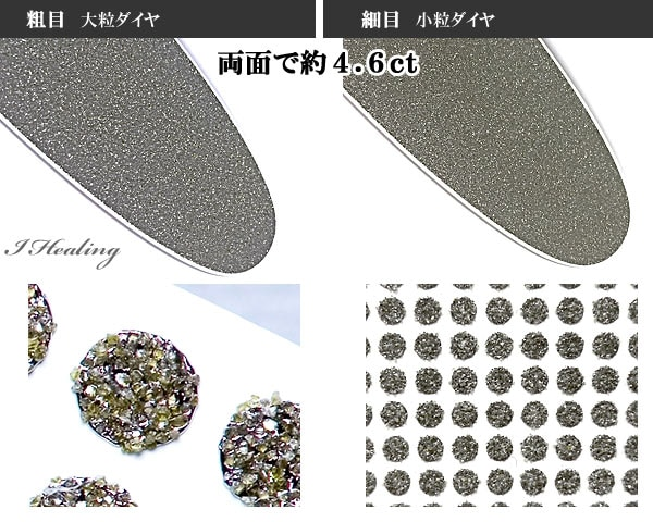 2種類のダイヤモンド