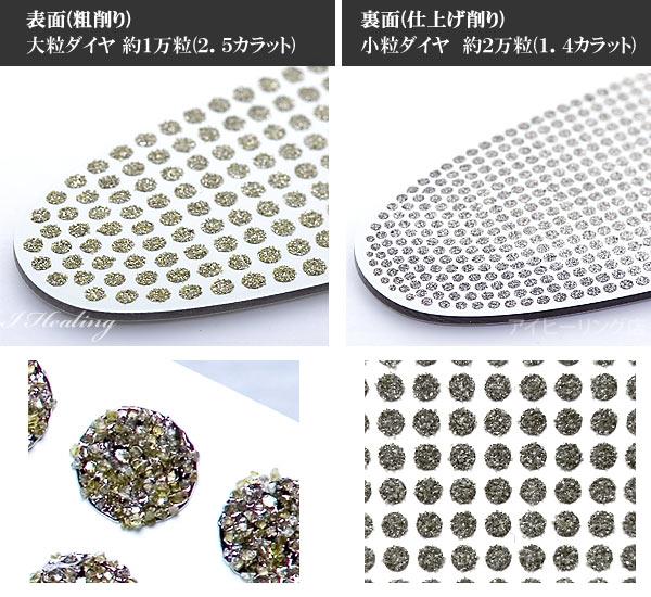 2種類のダイヤ