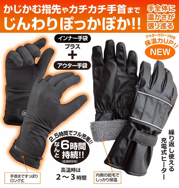 新型ほっかほっか手袋