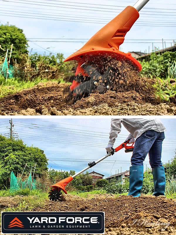 軽くて使いやすい耕運機