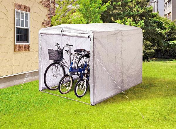 簡易自転車置場