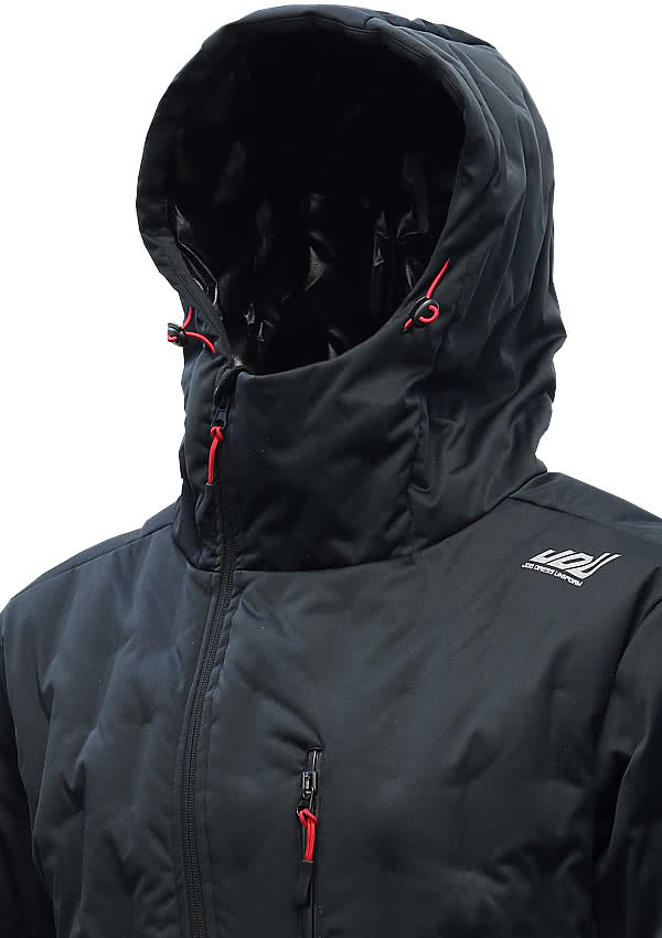 JDU LA-001 防寒パーカー ブラック