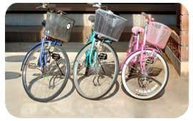 場所を取る自転車