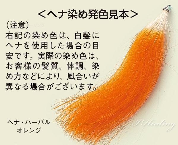 ヘナ染め発色見本 品番14-841-4030