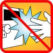 ドアノブに触れる前の静電気防止