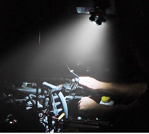 エンジン修理LED