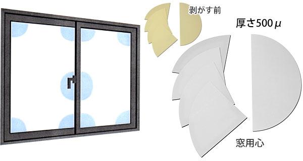 ガラス飛散防止フィルム