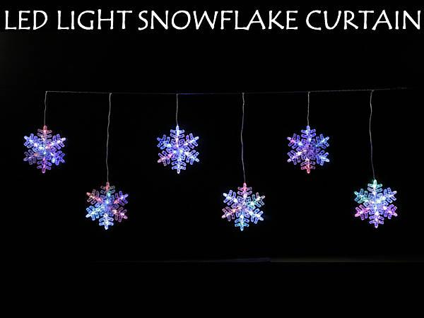 LEDスノーフレークライト