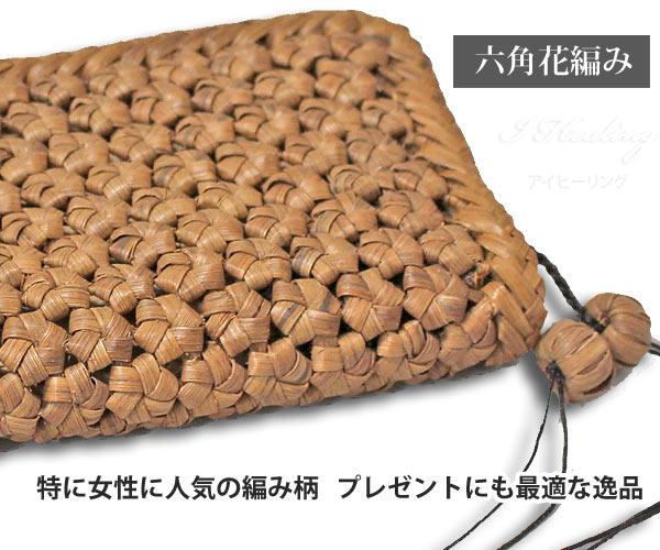 女性に人気の六角花編み