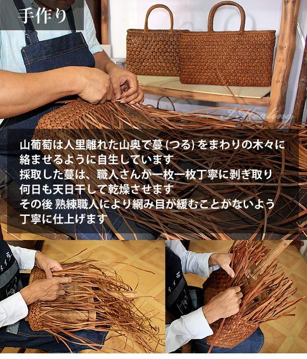 山葡萄蔓で手作り