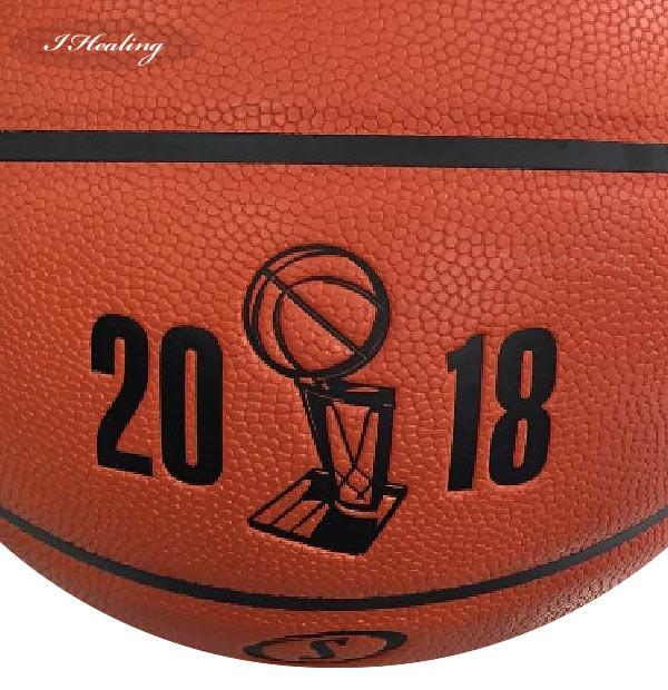 NBAファイナル2018トロフィーのロゴ