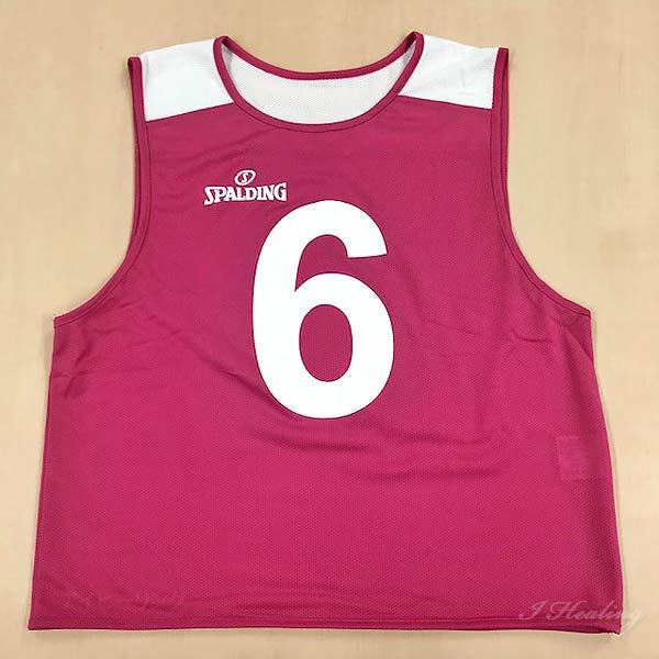 バスケットボール ビブス SUB130720ピンク