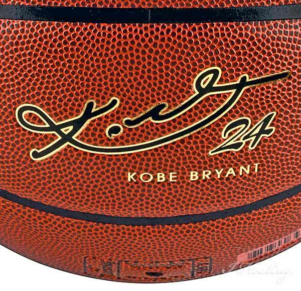 コービー・ブライアントのバスケットボール
