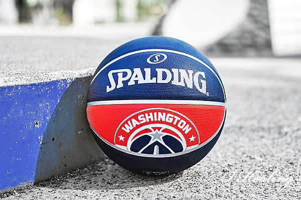 ワシントン ウィザーズ チームボール外で使うイメージ