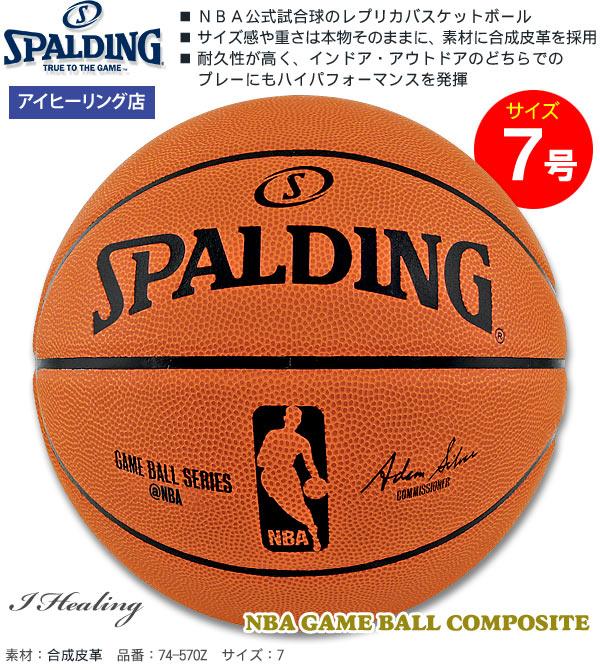 NBAゲームボール コンポジット