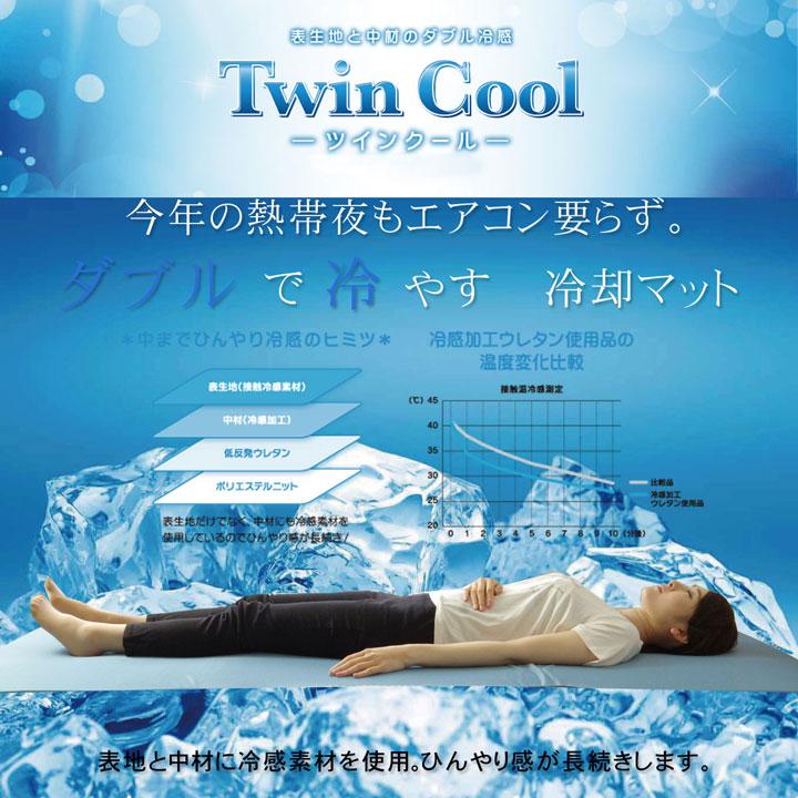 冷感枕パッド「 ツインクール 」