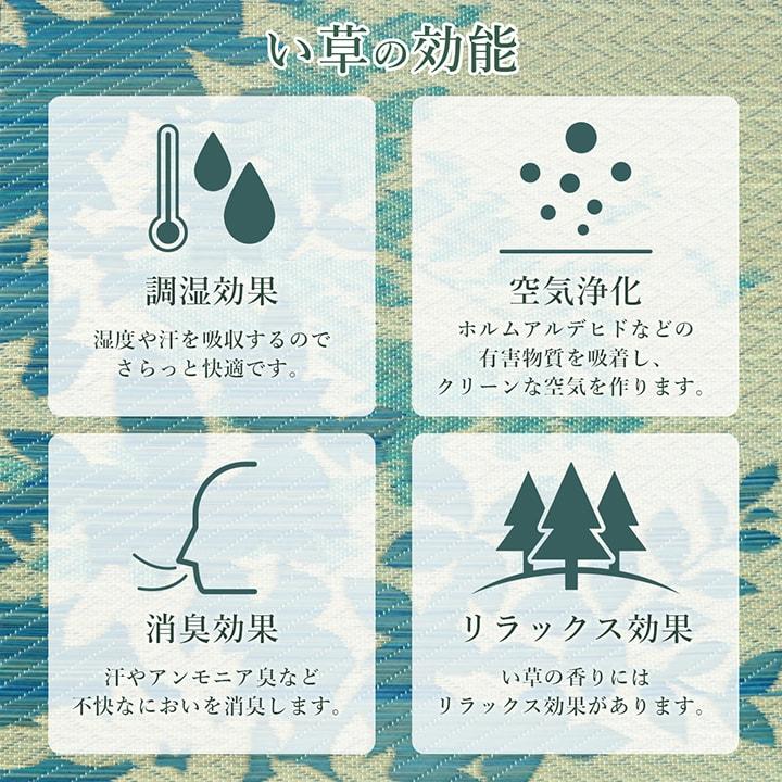 選べる12柄 い草ラグ