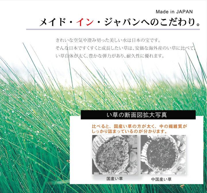 国産 い草ラグ レンガ調 「 Fレンガ 」 サイズ:(約) 191×191cm 191×250cm い草 ラグ 夏 ござ 涼感 さわやか