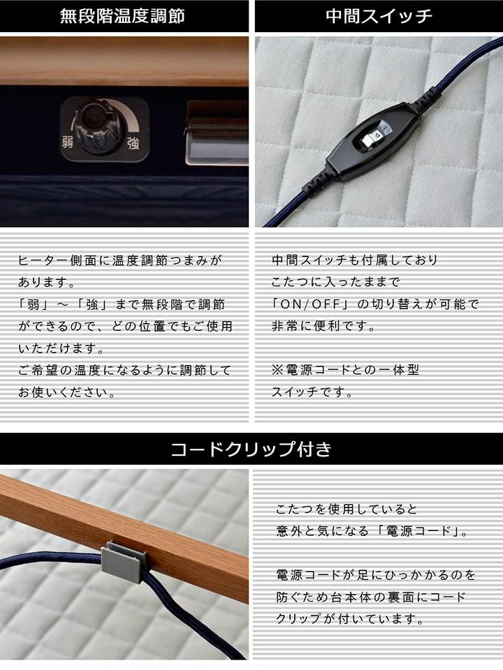 フラン(省)掛敷台3点セット台:80×120cm
