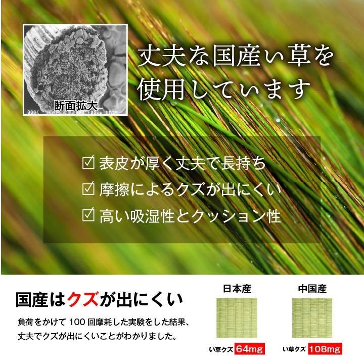 い草 上敷き 「 グラッセ  」 江戸間2~8畳/本間2~8畳