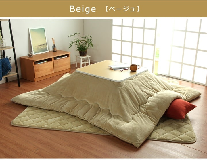 【送料無料】フラン敷き布団 約205×205cm 4色展開