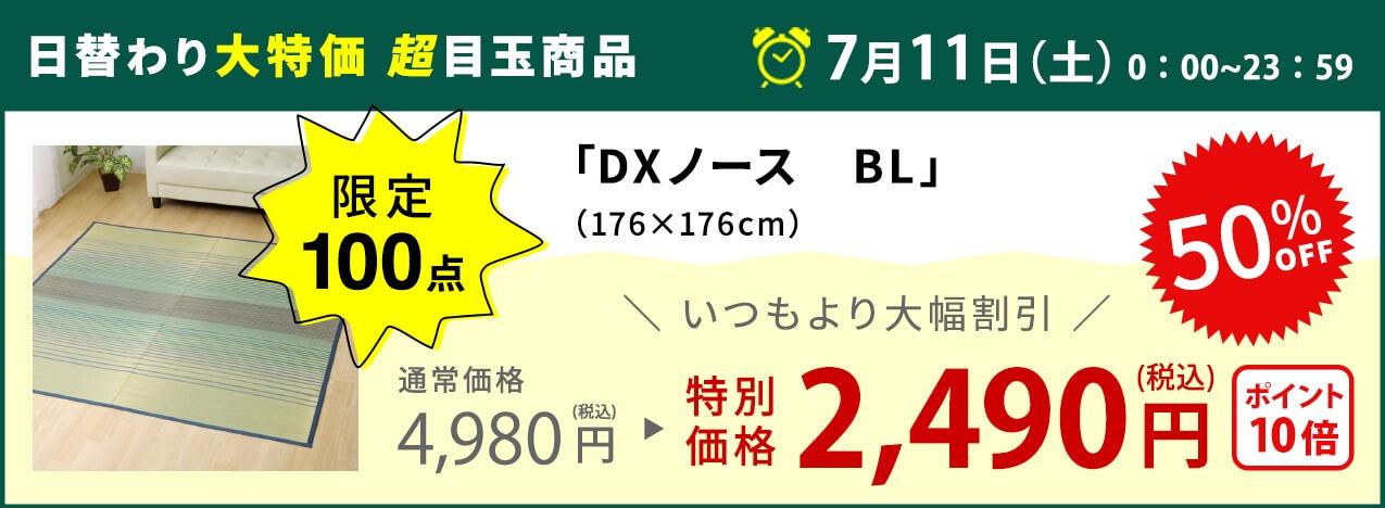 日替わり大特価 超目玉商品 「DXノース BL」 限定100点 特別価格2,490円(税込) 50%OFF
