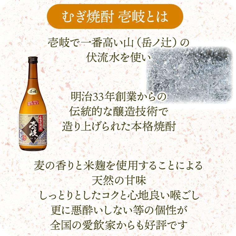 玄海酒造の代表的銘柄 むぎ焼酎 壱岐
