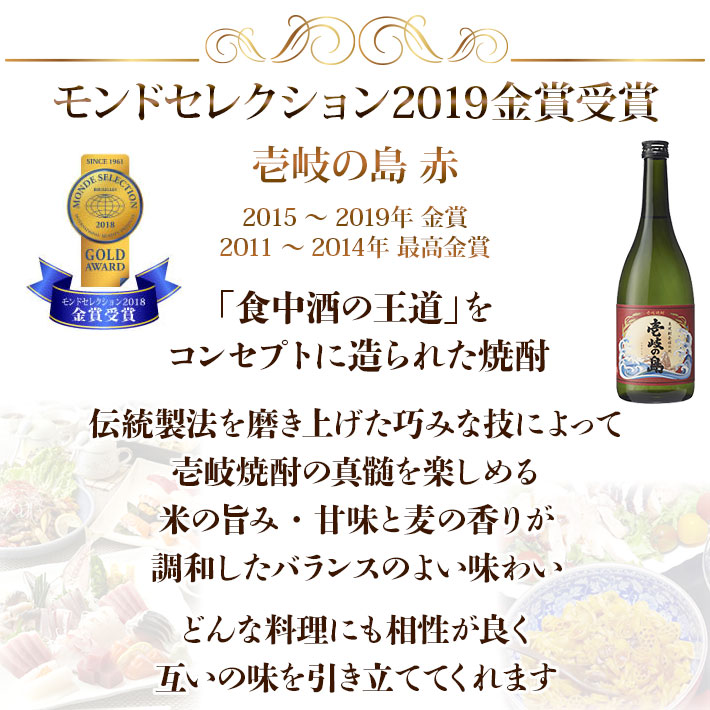 伝統製法を磨き上げた巧みな技によって素材の味を十二分に引き出した壱岐島 赤