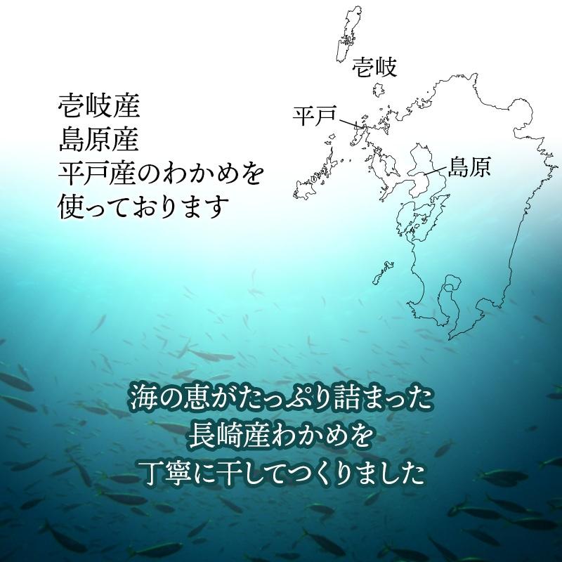 海の恵みがたっぷり詰まった長崎産わかめ