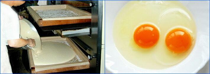 卵黄濃度の高いカステラ専用の鶏卵