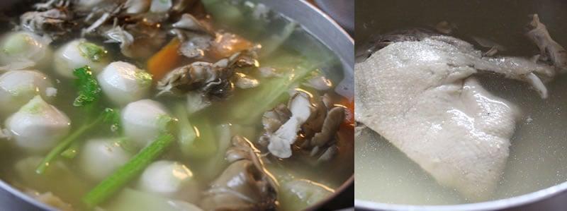 合鴨骨付きモモ肉のスープ(塩味) 2019 GW 令和を祝う 一湖房の限定商品