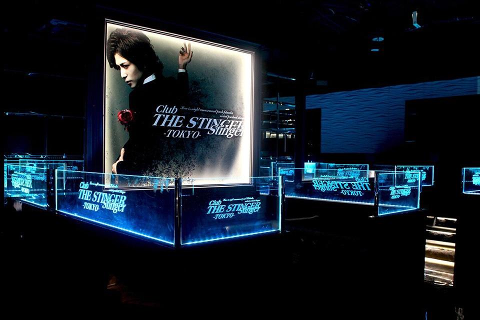 新宿歌舞伎町Club The Stinger 店内施工画像