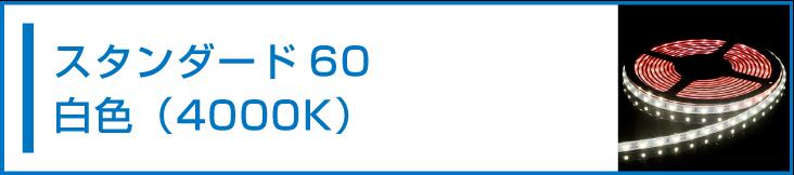 SMD3528(60) LEDテープライト 白色 4000K