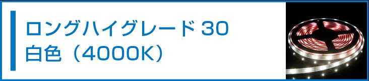 SMD2835(30) LEDテープライト 白色 4000K