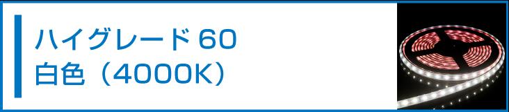 SMD2835(60) LEDテープライト 白色 4000K