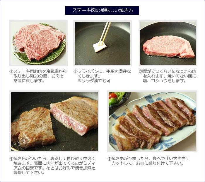 ステーキ肉の美味しい焼き方